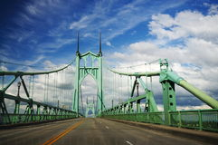 Beautiful st. johns historic bridge Stock Image