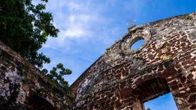 Melaka, malaysia. The beautiful St.Paul`s Church in Melaka malaysia malaya Stock Images
