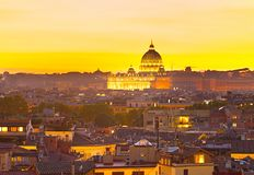 Beautiful St Peter Cathedral. Italy Royalty Free Stock Photos