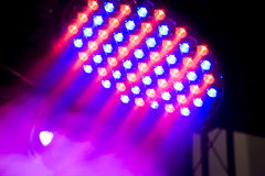 Beautiful stage lighting Stock Photography