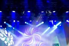 Beautiful stage lighting Stock Photography