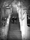 Beautiful Staircase in Baku, Azerbaijan Royalty Free Stock Photo