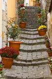 Beautiful stairs. Szentendre. Travel in Hungary Royalty Free Stock Images