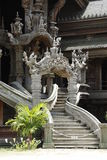 Beautiful stairs of Thai temple Royalty Free Stock Photography