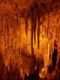 Stalactites and Stalagmites in Cave at Perama. Ioannina, Epirus, Stock Photography