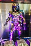 Beautiful Standee of Movie Predator displays at the theater royalty free stock photography