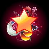 Beautiful star  artistic design Royalty Free Stock Photos