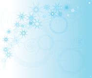 Star background. Beautiful star view in white-blue background Royalty Free Stock Images
