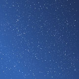 Beautiful starry blue sky. Background, vector Stock Images