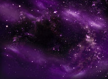 Beautiful starry sky Royalty Free Stock Photography