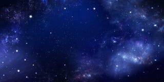 Beautiful starry sky, galactic nebula, space background. Beautiful background of the night sky with stars. starry sky in the open space, galactic nebula royalty free stock photos