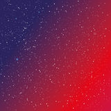 A beautiful starry sky Royalty Free Stock Photo