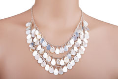 Beautiful statement necklace Stock Photo