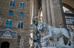 Beautiful statues of Florence Stock Images