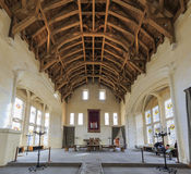The beautiful Stirling Castle. Scotland, MAR 25: The beautiful interior of Stirling Castle at Scotland on the highway on MAR 25, 2016 at United Kingdom Stock Photos