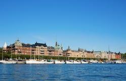 Beautiful Stockholm cityscape Royalty Free Stock Photos
