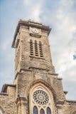 Beautiful stone Catholic Cathedral. Nha Trang Cathedral in Nha Trang, Vietnam Royalty Free Stock Images