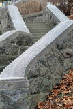 Beautiful stone staircase Royalty Free Stock Image