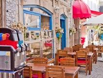 Beautiful Stone Street in Alaçati. İzmir,Turkey Stock Photos
