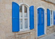 Beautiful Stone Street in Alaçati. İzmir,Turkey Royalty Free Stock Image