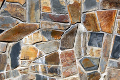 Beautiful Stone Wall Stock Photo