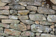 Beautiful stone wall, hand-made and very old