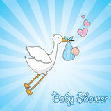 Beautiful stork Royalty Free Stock Image