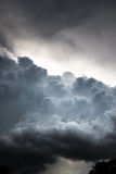 Beautiful storm clouds. Beautiful gloomy storm clouds summer day Royalty Free Stock Photos