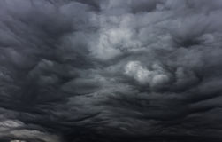 Beautiful storm sky with clouds Stock Image
