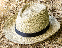 Beautiful Straw hat Royalty Free Stock Image