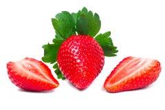 Beautiful strawberries Royalty Free Stock Photo