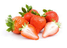 Beautiful strawberries Royalty Free Stock Photography