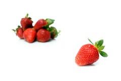 Beautiful strawberries Stock Photo