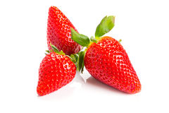 Beautiful strawberries Stock Photography