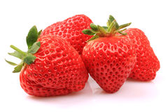 Beautiful strawberries Royalty Free Stock Photos