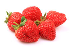 Beautiful strawberries Royalty Free Stock Images