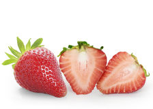 Beautiful strawberries Stock Photo