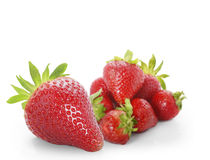 Beautiful strawberries Royalty Free Stock Photo