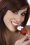 Beautiful strawberry Royalty Free Stock Photos