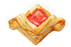 Beautiful Strawberry pastry Royalty Free Stock Image