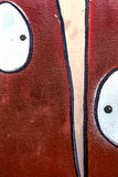 Beautiful street art graffiti. Abstract creative colors Royalty Free Stock Image