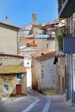 Beautiful street of Castelsardo Royalty Free Stock Image