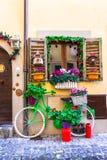 Beautiful street decoration stock photography
