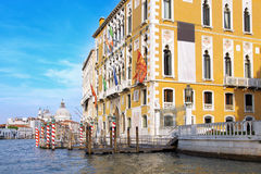 Beautiful street,Grand Canal in Venice, Italy Royalty Free Stock Image