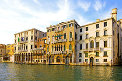 Beautiful street,Grand Canal in Venice, Italy Royalty Free Stock Photos
