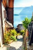 Hallstatt village, Austrian Alps Stock Photography