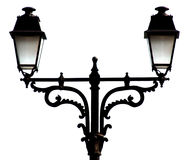 Beautiful Street Lamp. In black and white composition Royalty Free Stock Photo