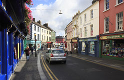 Beautiful streets of Kilkenny Royalty Free Stock Photography