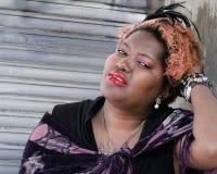 Beautiful Strong Black Woman Stock Photo