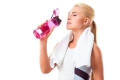 Beautiful strong sportswoman Royalty Free Stock Photo